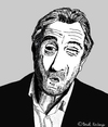 Cartoon: Robert De Niro (small) by Pascal Kirchmair tagged robert,de,niro,caricature,karikatur,portrait,cartoon,vignetta,caricatura,taxi,driver,usa,new,york