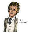 Cartoon: Rod Stewart (small) by Pascal Kirchmair tagged small,faces,rock,and,roll,hall,of,fame,commander,the,order,british,empire,rod,stewart,am,sailing,rocker,great,britain,celtic,glasgow