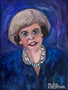 Cartoon: Theresa May (small) by Pascal Kirchmair tagged theresa,may,caricature,portrait,retrato,ritratto,drawing,illustration,karikatur,zeichnung,pascal,kirchmair,cartum,dibujo,desenho,dessin,uk,prime,minister,tories,england,united,kingdom,brexit,london,watercolour,aquarell,painting,peinture,malerei,dipinto,cuadro,quadro