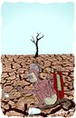 Cartoon: Drought (small) by kar2nist tagged drought,desperation,scarcity,water,welding