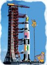 Cartoon: Indo-Us joint space odyssy! (small) by kar2nist tagged space,launch,india,us,jointventure,rocket