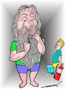 Cartoon: smoking hazards (small) by kar2nist tagged smoking,fire,extingusher