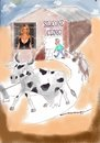 Cartoon: The Pamela Clinic (small) by kar2nist tagged pamela anderson cow milk udder silicone treatment