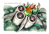 Cartoon: Go green (small) by Niessen tagged superman grün blumen flugzeug fliegen