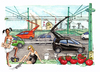 Cartoon: Montalto (small) by Niessen tagged nuclear,energy,electric,cars,prostitute,tomatoes