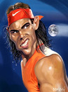 Cartoon: Nadal (small) by drljevicdarko tagged nadal