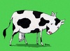 Cartoon: H-Milch-Kuh (small) by BiSch tagged kuh milch uht milk cow surprise
