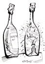 Cartoon: Bulb (small) by Kestutis tagged bulb,vodka,kestutis,lithuania,electricity,alcohol