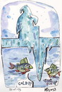 Cartoon: COLD!!! (small) by Kestutis tagged winter,angler,kestutis,lithuania,nature,adventure,eisfischen,ice,fishing,fisch,fish