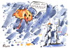 Cartoon: HALLOWEEN NIGHT (small) by Kestutis tagged halloween night umbrella rain pumpkin happening kestutis siaulytis lithuania adventure