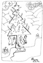 Cartoon: Journey to Christmas (small) by Kestutis tagged journey,christmas,colour,2012,santa,claus,dezember,december,yourself,weihnachten,kestutis,lithuania
