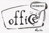 Cartoon: OFFICE STORIES. MOBBING (small) by Kestutis tagged mobbing,office,letters,briefe,calligraphy