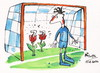 Cartoon: PORTUGUESE TULIPS (small) by Kestutis tagged portuguese,tulips,garden,portugal,sport,goalkeeper,fans,netherlands,flower,blume,cristiano,ronaldo,goal,football,euro,2012,soccer,fußball,nature,fussball