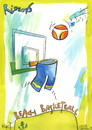 Cartoon: Rio. Beach basketball (small) by Kestutis tagged beach basketball olympics 2016 sports rio brazil games kestutis lithuania