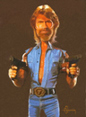 Cartoon: Chuck Norris (small) by cristianst tagged karate