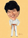 Cartoon: Jackie Chan (small) by cristianst tagged martial,arts
