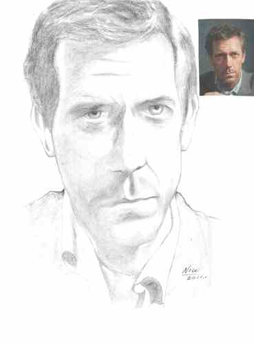 Cartoon: Dr. House (medium) by Nico Avalos tagged celebrities,actors