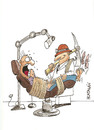 Cartoon: DENTISTA (small) by HCATALAN tagged dentista,diente,medico,paciente,cordoba,hcatalan,catalan,argentia