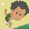 Cartoon: oekaki-ping-pong (small) by claudio acciari tagged oekaki,pixel,art,illustration,70