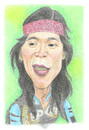 Cartoon: Bimbim Slank (small) by areztoon tagged music,slank,bim2,bimbim,karikatur,drumer,coloring