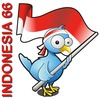 Cartoon: MERDEKA 66 (small) by areztoon tagged indonesia66 merdeka flag icon 17an