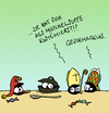 Cartoon: The Daily Mussel (small) by Pierre tagged muschel,miesmuschel,karneval,rosenmontag,kostüm