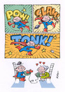 Cartoon: TRENTENNI MAMMONI (small) by Riko cartoons tagged riko,cartoon,thirty,years,mom,superhero