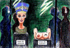 Cartoon: Büste-Brüste der Nofretete (small) by Alan tagged neues,museum,nofretete,büste,brüste,nefertiti,bust,breasts,eye,auge,nipple,nippel,brustwarze,ägypten,egypt,pharaoh,pharao,thutmose,berlin