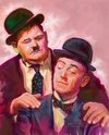 Cartoon: Laurel and Hardy Famous Comedian (small) by McDermott tagged famouscomedian laurelandhardy comedy tvland oldmovies funny