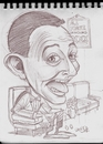 Cartoon: Old Sketch of Pee Wee Herman (small) by McDermott tagged peeweeherman,sketchbook,mcdermott,new,tv,conedy,movies,standup