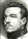 Cartoon: art (small) by ressamgitarist tagged drawing,portrait