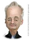 Cartoon: Bill Murray (small) by Oscar Saldarriaga tagged bill,murray,cartoon,caricatura,oscar,saldarriaga,ilustrador,illustrator,ilustracion,illustration,best,colombian
