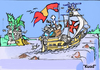 Cartoon: Good Bye !!!!!!!! (small) by KUAD tagged cataratas