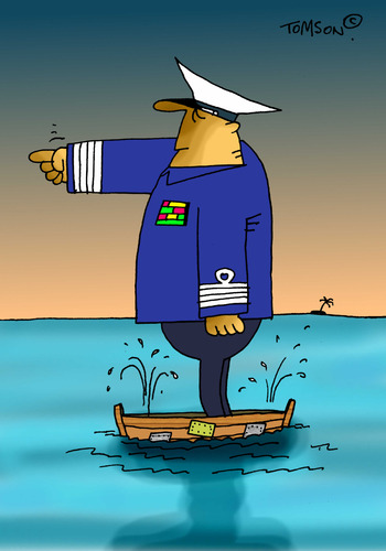Cartoon: ... (medium) by to1mson tagged wasser,water,woda,marynarka,navy