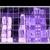 Cartoon: MH - Gaudi Village (small) by MoArt Rotterdam tagged rotterdam gaudi cityinglass stadinglas reflection weerspiegeling paars purple