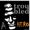 Cartoon: MoArt - A Troubled Hero (small) by MoArt Rotterdam tagged moart,rotterdam,troubles,hero,troubled,pain,darkness