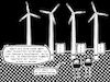 Cartoon: Aussicht (small) by bob schroeder tagged windrad,windpark,windenergie,energiewende,protest,landschaft,verschandelung,offshore