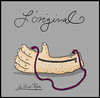 Cartoon: L-Original (small) by Huse Fack tagged handtasche,handbag,mode,fashion