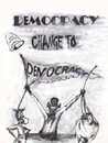 Cartoon: A Comedy of Democracy In 2011 (small) by RahimAdward tagged prince,of,qatar,leader,de,ocracy