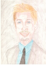 Cartoon: brad pitt (small) by paintcolor tagged brad,pitt,actor,famous,celebrity,hollywood