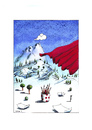 Cartoon: Landschaft5 (small) by Mehmet Karaman tagged landschaft5