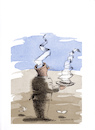Cartoon: Papier (small) by Mehmet Karaman tagged papier