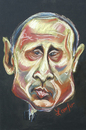 Cartoon: Vladimir Putin (small) by Zamfir Somcutean tagged politics