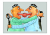 Cartoon: Friendship (small) by Makhmud Eshonkulov tagged friendship