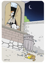Cartoon: cats (small) by hicabi tagged hico