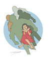 Cartoon: 28 January 2009  Sexual Violence (small) by damayanthi tagged war,bbs,sri,lanka