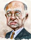 Cartoon: Hector Timerman (small) by Bob Row tagged argentina,timerman,caricature