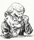 Cartoon: Mahmoud Abbas (small) by Bob Row tagged abbas,palestine,middleeast,caricature
