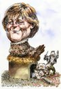 Cartoon: Merkel neonazi nest (small) by Bob Row tagged merkel,germany,neonazis