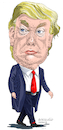 Cartoon: Donald Trump USA. (small) by Cartoonarcadio tagged trump usa washington america white house